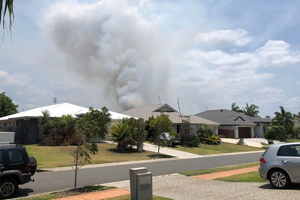 Article image for 66 fires burning across Queensland with conditions expected to worsen