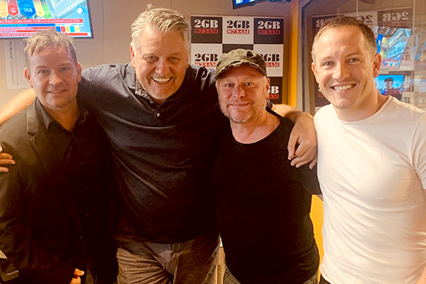 Robertson Brothers bring banter and tunes to The Ray Hadley Morning Show