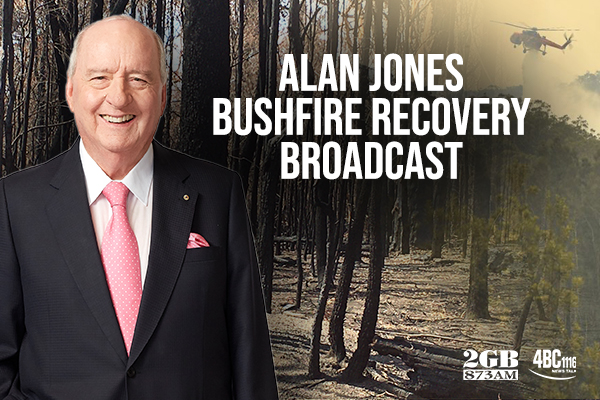 Article image for Alan Jones broadcasts from the NSW South Coast