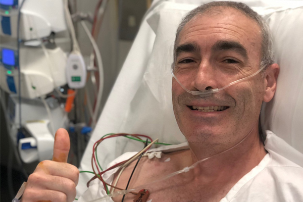 Yellow Wiggle Greg Page has spoken to the off-duty nurse who saved his life