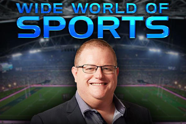 Article image for 'An absolute thrill': Mark Levy launches new Wide World of Sports radio show