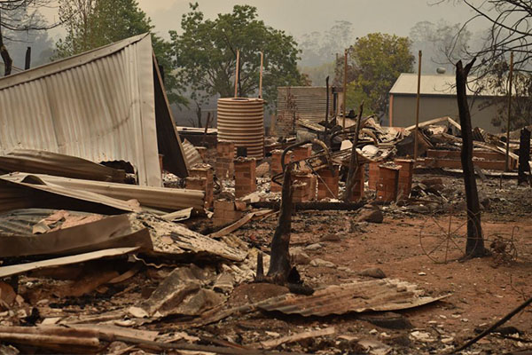 NSW Government pledges $1 billion to rebuild fire-ravaged communities
