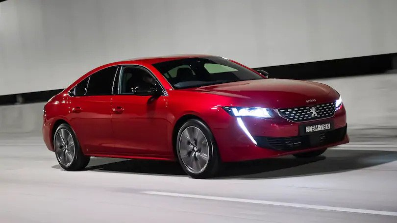 Peugeot's 508 fastback – striking new model with a host of driver technology