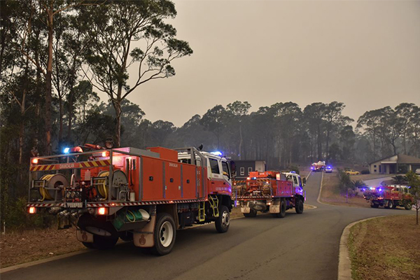 Article image for GET OUT   Tourists urged to leave NSW South Coast ahead of extreme fire danger