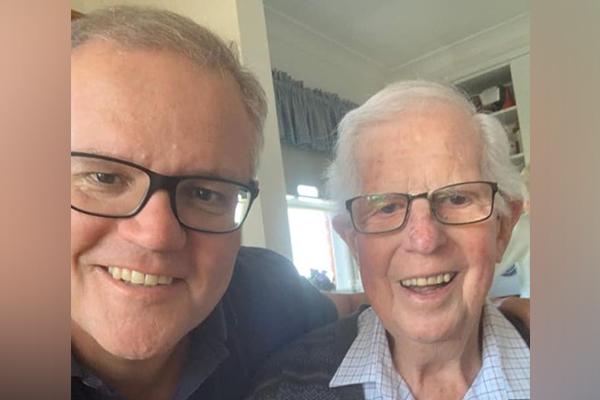 Ben Fordham pays tribute to Scott Morrison's father, John