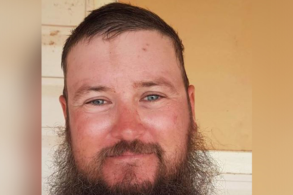 Article image for Grazier refuses to shave beard until decent rainfall hits drought-stricken NSW