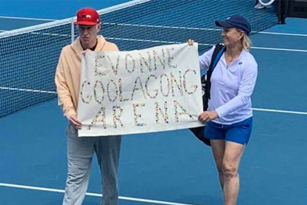 Article image for Margaret Court's own family have their say about on-court protest