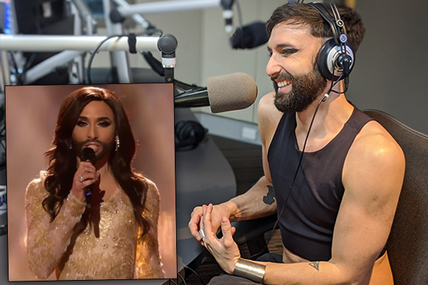 Remember 'the bearded lady'? Conchita Wurst is back and looks very different