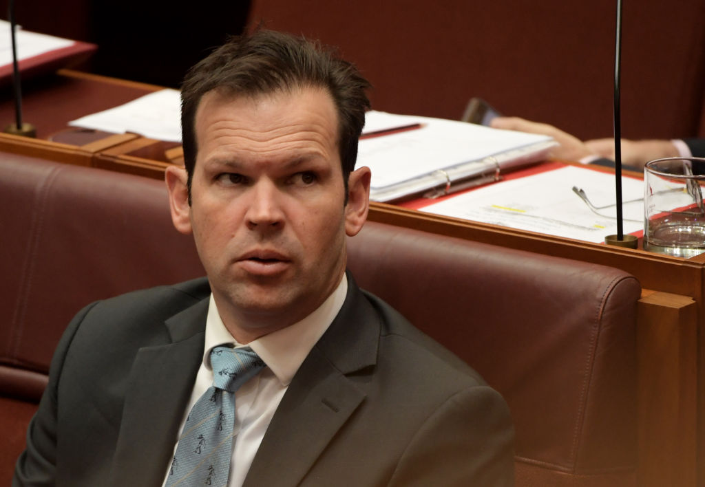 Article image for Matt Canavan condemns compulsory COVID jab for workers