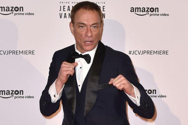 Hollywood superstar Jean-Claude van Damme chats with Alan Jones