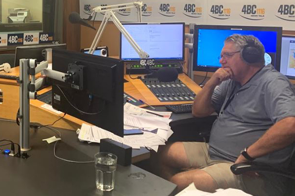 Article image for Not again! Studio meltdown leaves Ray Hadley in hilarious mess
