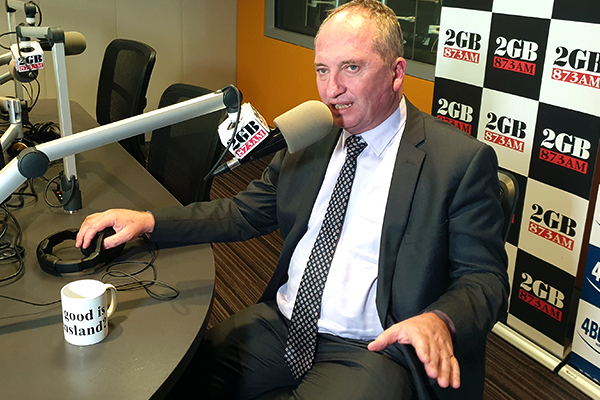 'You've gotta move on': Barnaby Joyce insists he isn't trying to derail the government