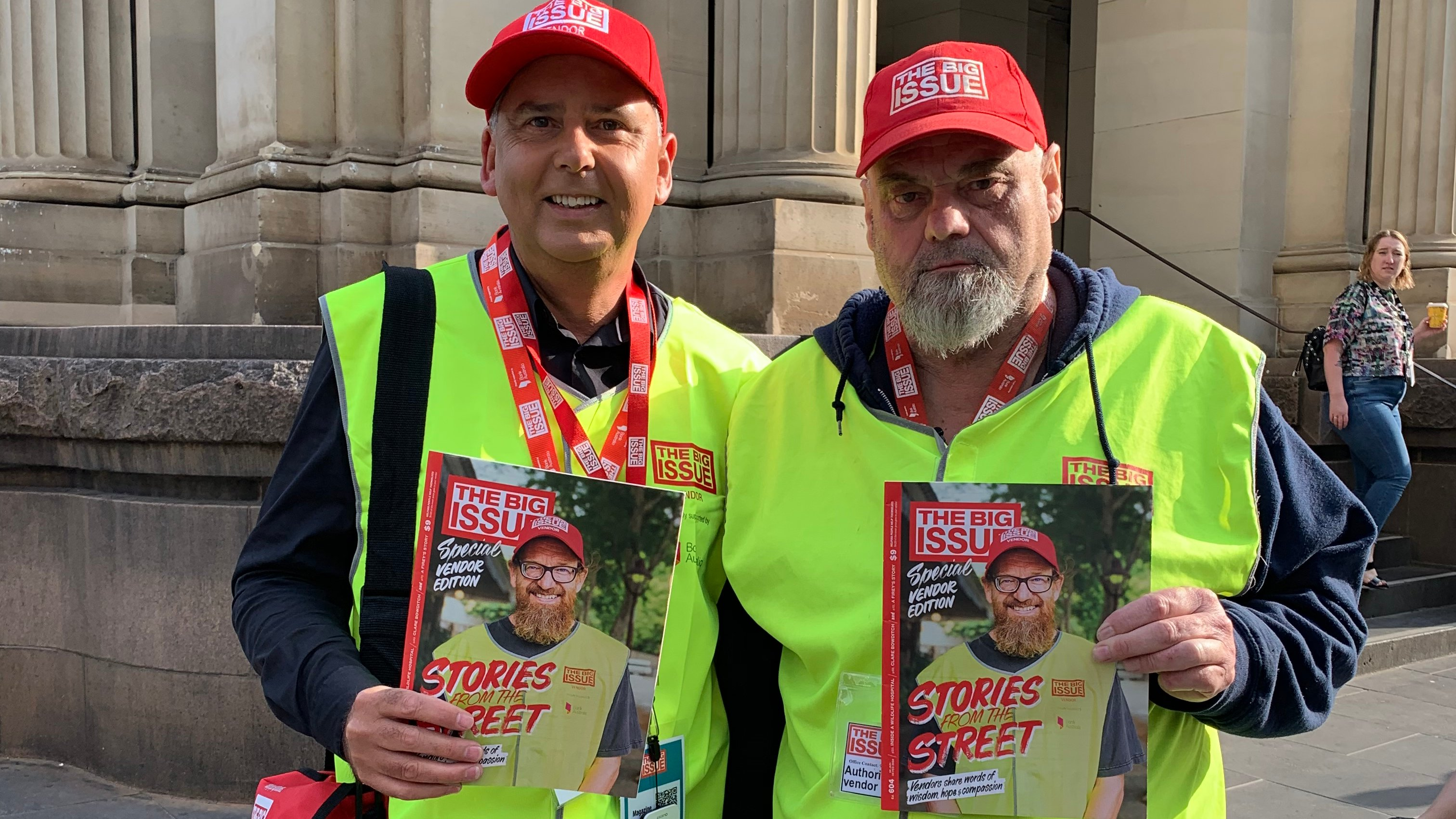 Article image for CEOs hit the streets for The Big Issue's 'Vendor Week'