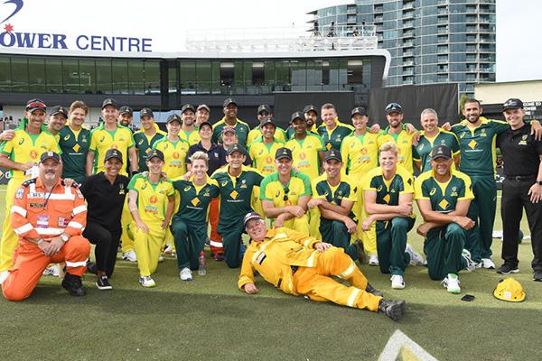 Cricket Australia boss 'humbled' by Bushfire Cricket Bash