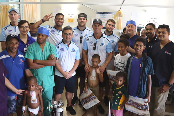 'Life-changing' experience for NRL teams in PNG
