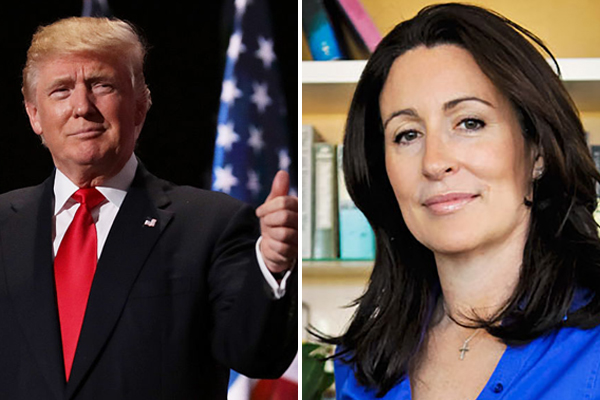 Miranda Devine reacts after Donald Trump praises her on Twitter