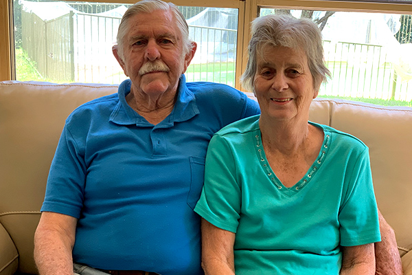 Ray Hadley's gigantic surprise for couple's 48th wedding anniversary