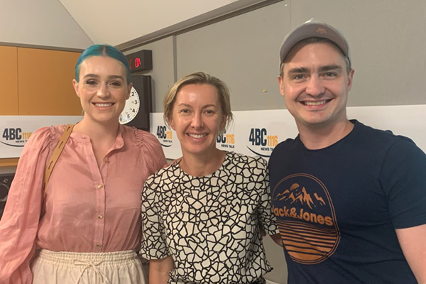 Aussie band behind Deborah Knight's opening song joins her in-studio
