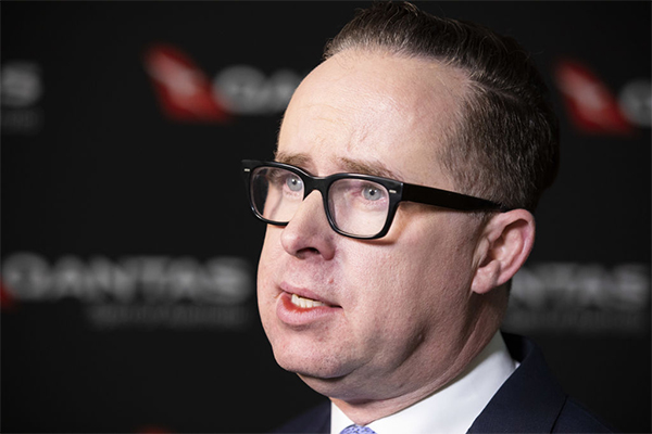Article image for Qantas boss says standing down staff was 'Sophie's choice'