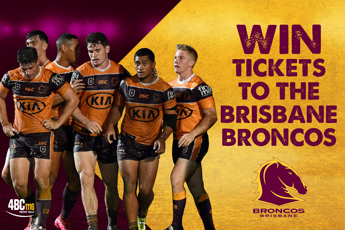 Win Tickets to the Brisbane Broncos  (Postponed)