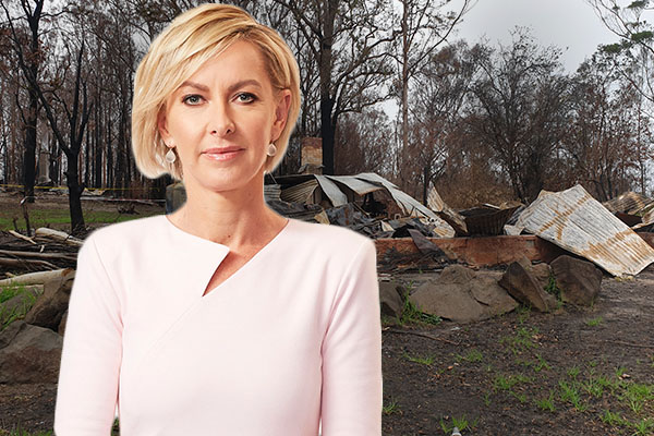 Article image for 'Get on with it!': Deborah Knight blasts political blame game as hundreds wait on bushfire relief