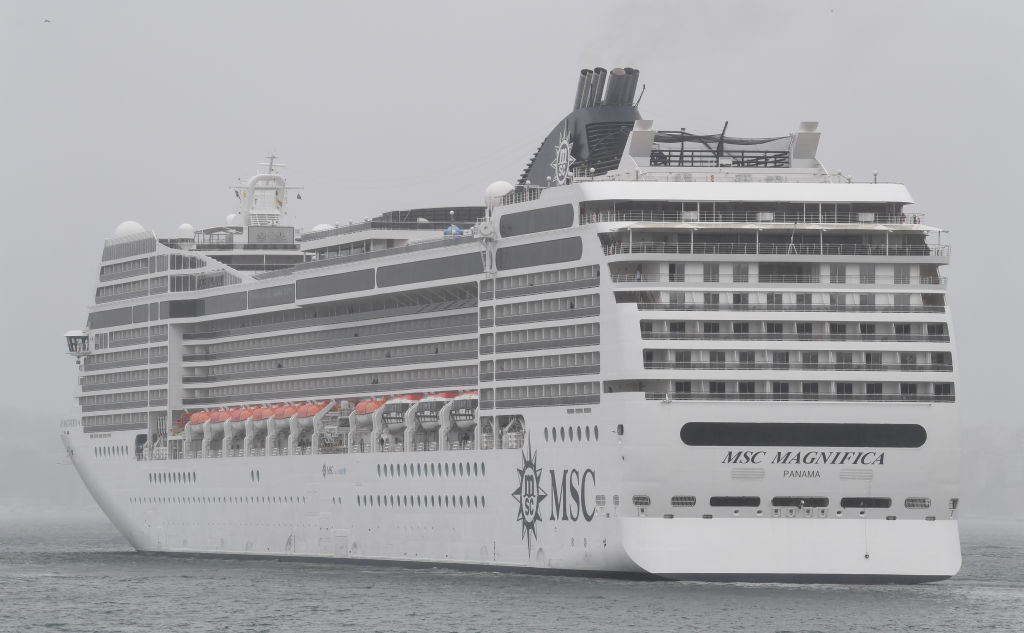 Article image for Cruise ship company denies reports of hundreds of sick passengers