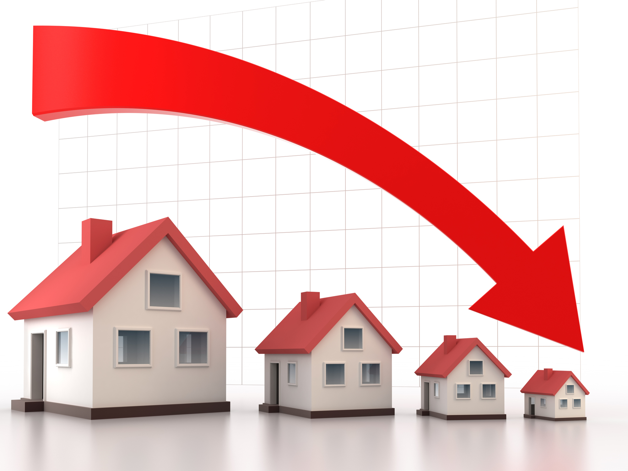 Rising unemployment could see house prices nosedive