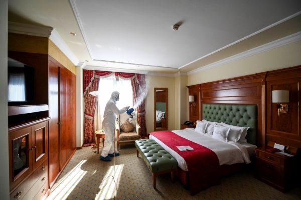 Article image for Empty hotel rooms could be used for coronavirus recovery