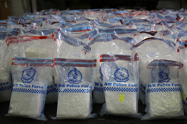 Article image for Police and Border Force make enormous drug bust