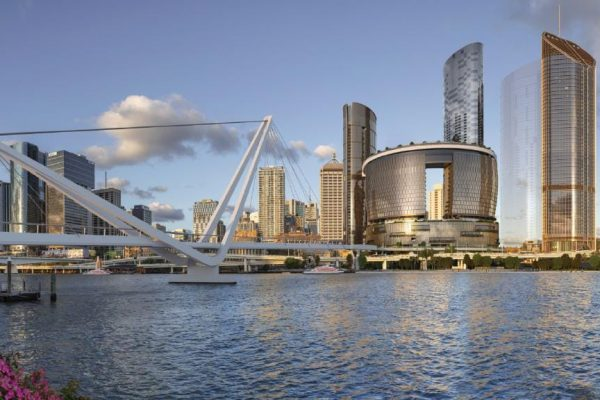 Article image for Queenslanders get their first glimpse of the $3.6-billion Queen's Wharf development