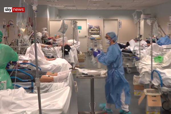 WATCH | Sobering vision from inside an Italian hospital