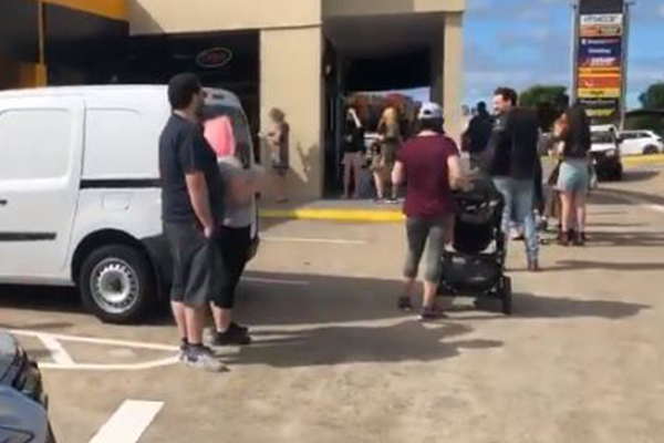 Long pre-polling lines at Queensland council elections