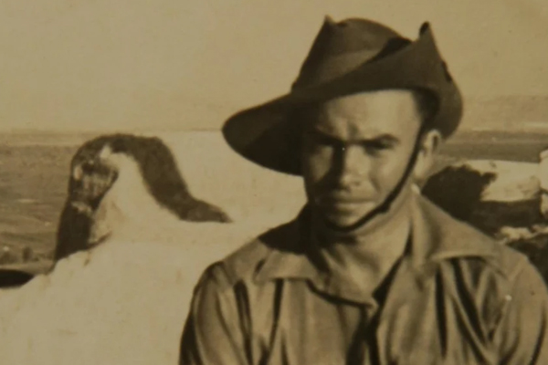 Article image for Ray Hadley catches up with veteran on his 104th birthday