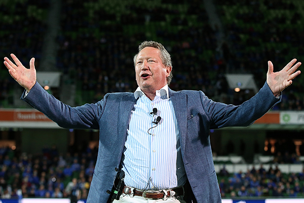 Article image for 'Go and hide!': Alan Jones rips into Andrew 'Twiggy' Forrest