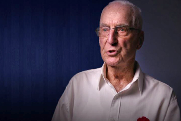 World War II veteran's message to Australians this ANZAC Day