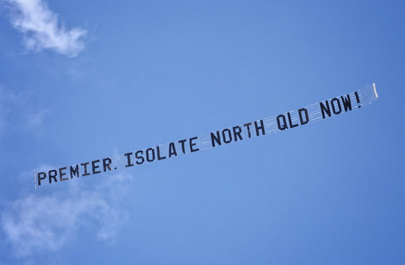 Article image for Premier insists it's 'impossible' to close off North QLD