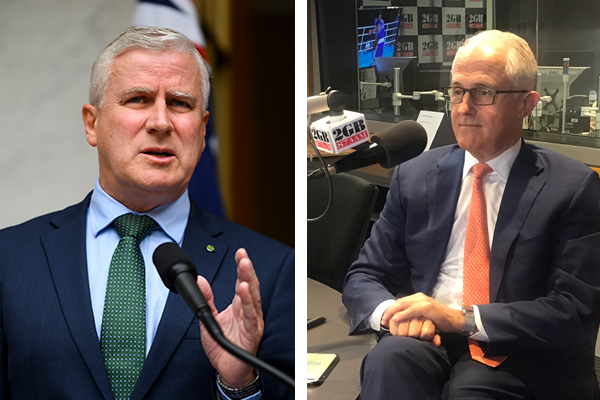 Article image for 'I got on well with Malcolm': Deputy PM defends ex-PM's memoir