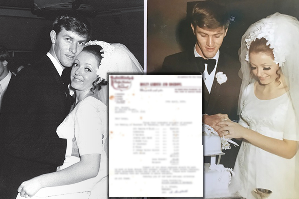Article image for The staggering cost of a wedding 50 years ago