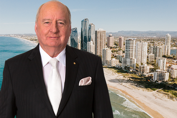 Article image for 'Trust us!': Alan Jones blasts QLD border closure