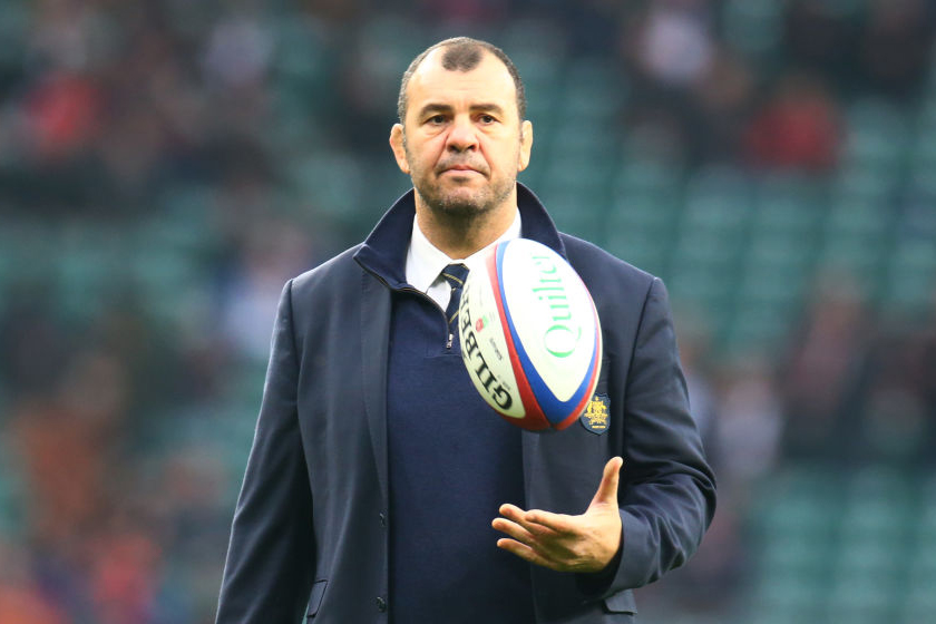 Former Wallabies coach Michael Cheika doesn't rule out coaching in rugby league