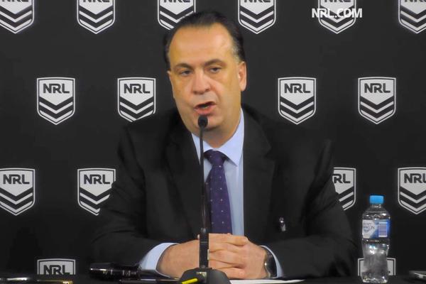 Peter V'landys rejects 'complete rubbish' referee allegations
