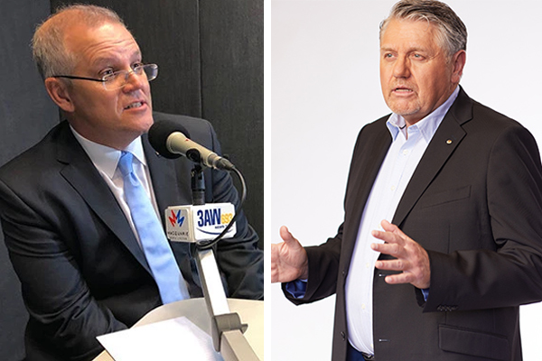 Article image for Ray Hadley 'sincerely apologises' to the Prime Minister on-air