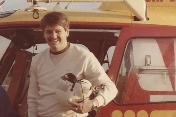 Ray Hadley relives his days aboard the lifesaver rescue helicopter