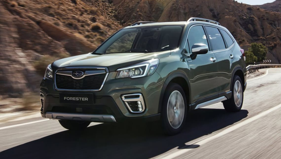 Subaru's Forester SUV goes hybrid but for little or no benefit in economy.