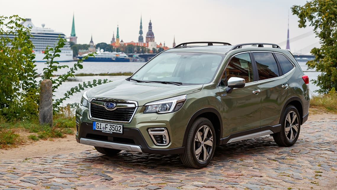 New hybrid power option on Subaru's Forester SUV offers little fuel saving.