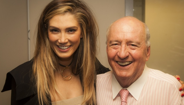 Delta Goodrem reveals first ever letter she sent to 'greatest mentor' Alan Jones