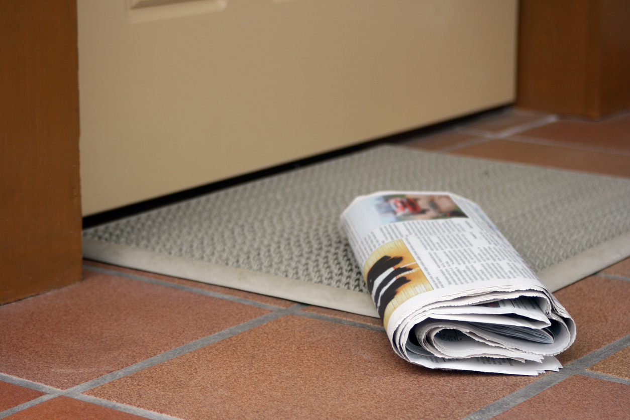 Tech companies accused of 'stealing' as local newspapers cease publication