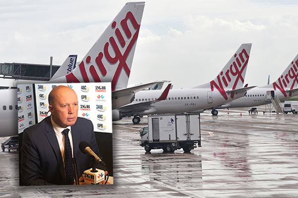 'They don't have one dollar in the bank': Peter Dutton slams QLD's airline bid