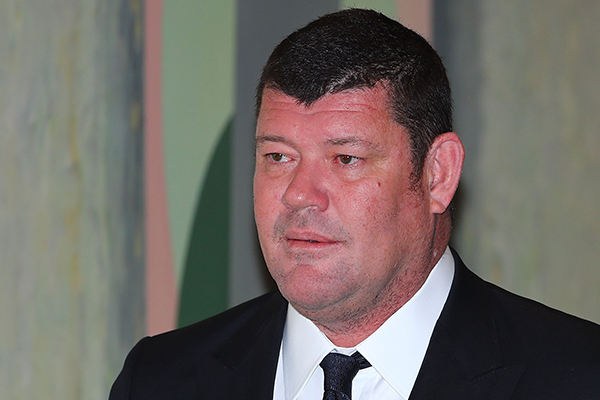 Article image for James Packer has 'had his time with Crown'