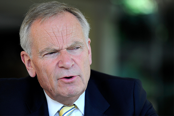 'I'm not your friend any longer!': Lord Jeffrey Archer clears things up with Alan Jones